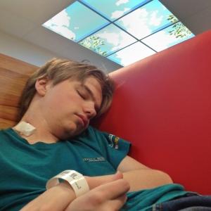 Uitslapen na negende biopt