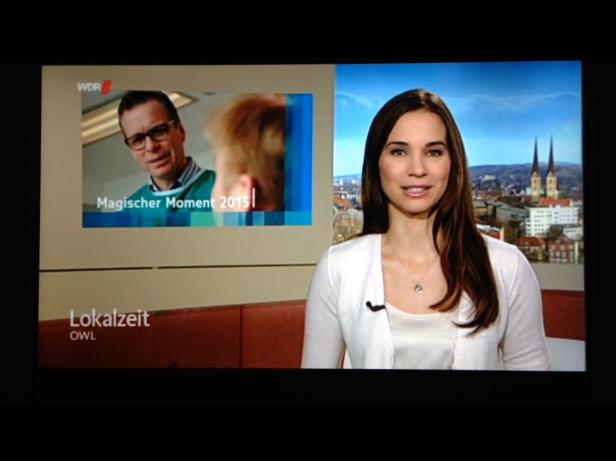 Filmpje van Krijn op WDR Lokalzeit OWL op 17 december 2015